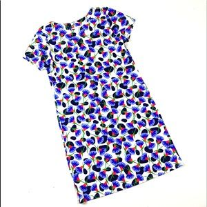 Jude Connally Ella shift dress purple flower